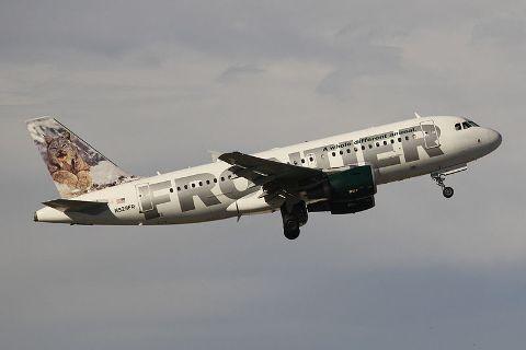 Avion Frontier Airlines
