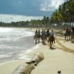 Cabalgata en caballo en Punta Cana.